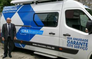 """[ CRA-CE ] Com van adaptada, Conselho implanta """"CRA Itinerante"""""""