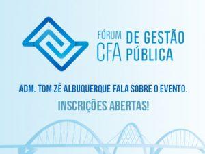 Fórum CFA de Gestão Pública