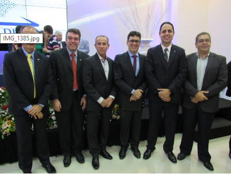 [ CRA-SE ] Presidente e conselheiros representam o CRA-SE em lançamento da JUCESE Digital