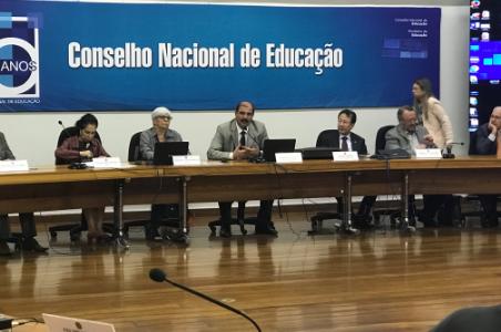 [ CFA ] CFA participa de reunião técnica sobre Mestrado e Doutorado no CNE