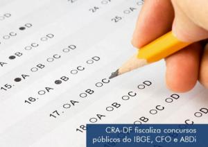 [ CRA-DF ] CRA-DF requer ajuste no edital dos concursos do IBGE, ADBi e CFO