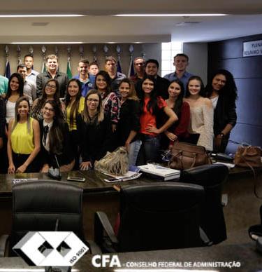 [ CFA ] Alunos da Faculdade Almeida Rodrigues visitam o CFA
