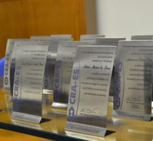[ CRA-ES ] CRA-ES recebe graduados para o Prêmio Formando Destaque Acadêmico