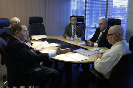 [ CFA ] Administradores do Ceará participam de reunião com presidente do CFA