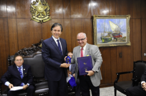 [ CFA ] Presidente do CFA reúne-se com Senador Eunício de Oliveira