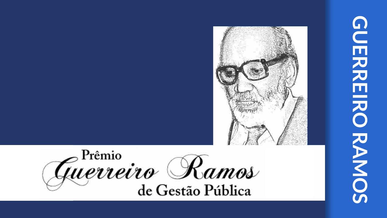 Vencedores do Prêmio Guerreiro Ramos de Gestão Pública 2017
