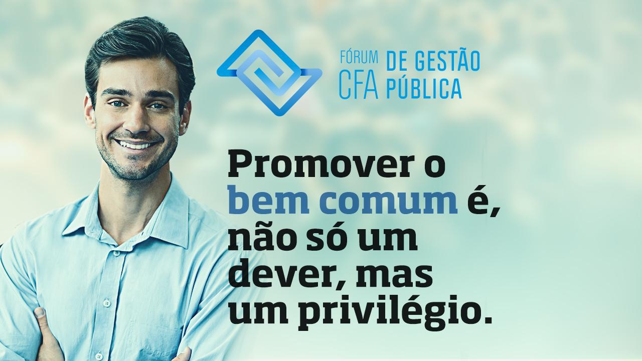 Brasília receberá o Fórum CFA de Gestão Pública