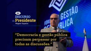 Presidente do CFA destaca importância da democracia