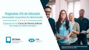 CFA oferece Manual de Perícia do Profissional de Administração como curso na UCAdm