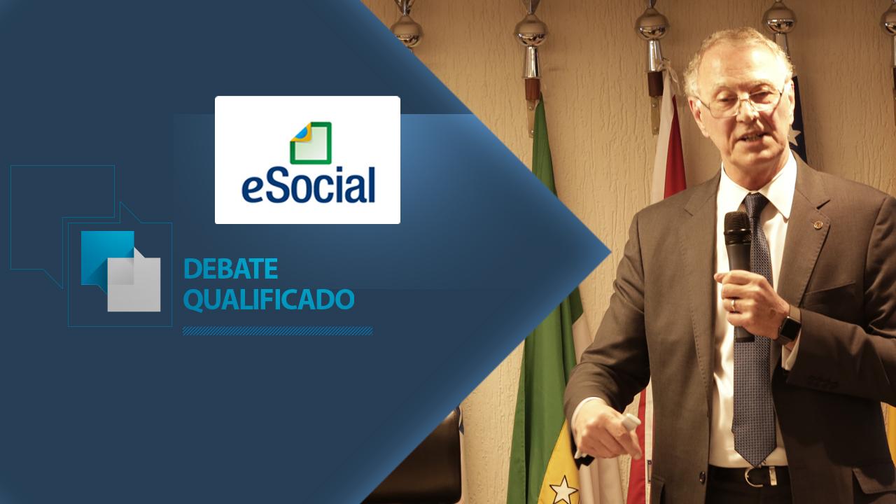 eSocial é tema de Debate Qualificado promovido pelo CFA