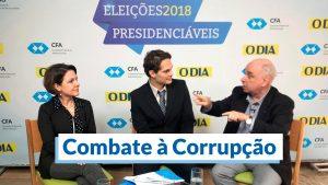 Combate à Corrupção é o tema de hoje no debate promovido pelo CFA