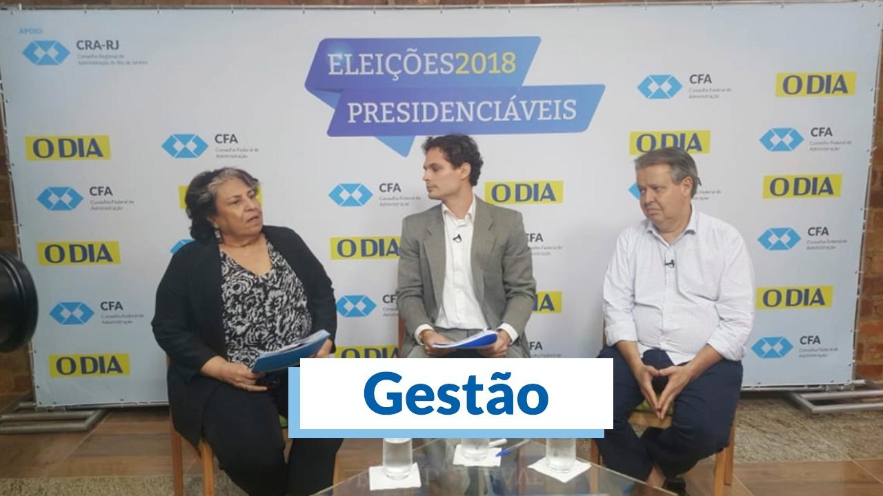CFA e O Dia debatem propostas de Gestão no último dia de debate no RJ