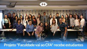 """Programa """"A faculdade vai ao CFA"""" – Alunos da IFTM visitam a autarquia"""