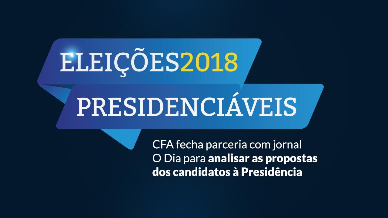 CFA realiza debate sobre planos de governo dos presidenciáveis