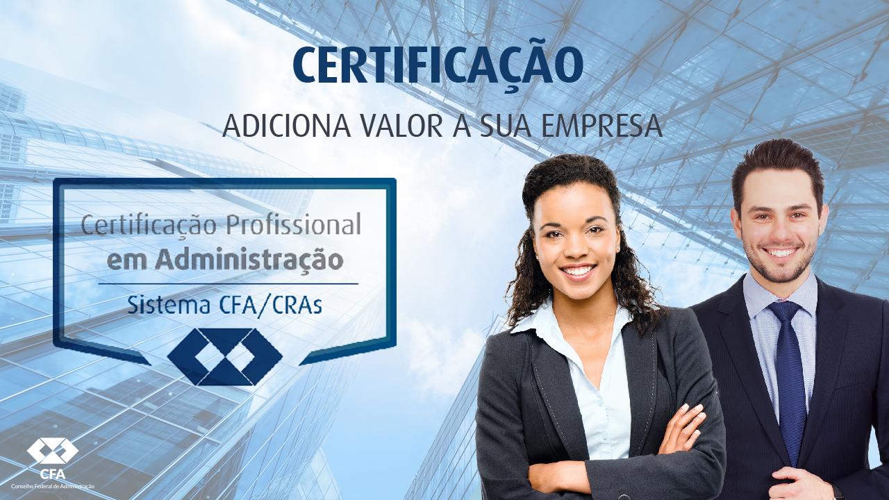 Certificação Profissional abrange oito áreas