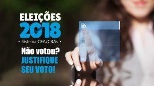 Saiba como justificar a ausência do voto nas eleições do Sistema CFA/CRAs