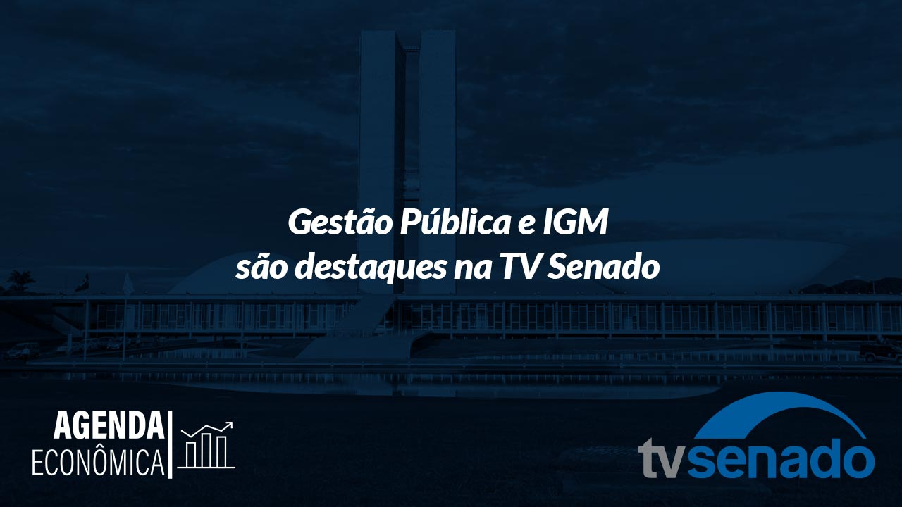 Wagner Siqueira: líder da autarquia participa de entrevista na TV Senado
