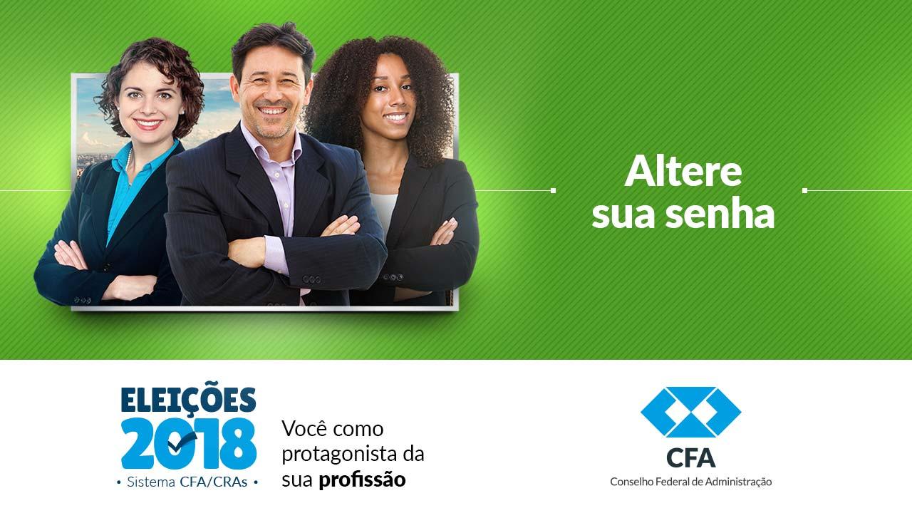 Eleições do Sistema CFA/CRAs: saiba como trocar de senha