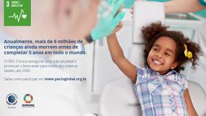 """""""Assegurar uma vida saudável e promover o bem-estar"""" é um dos ODs"""