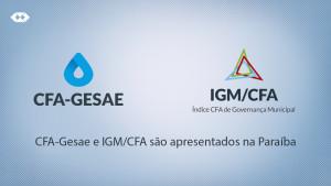 IGM e Gesae são apresentados no Fórum Paraibano de Gestão Pública