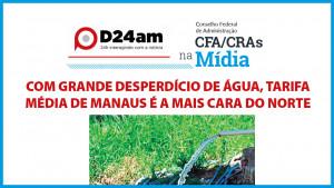 Relatório do CFA sobre o Amazonas é destaque na mídia
