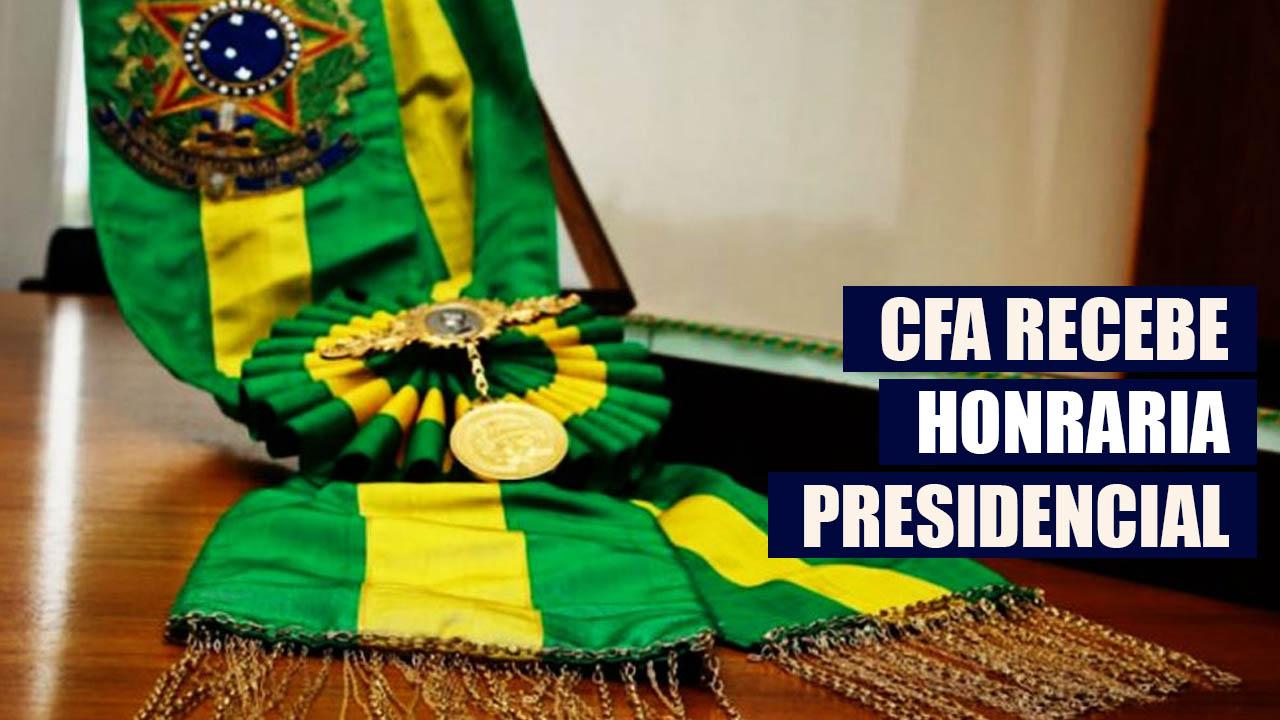 CFA recebe título conferido por decreto presidencial