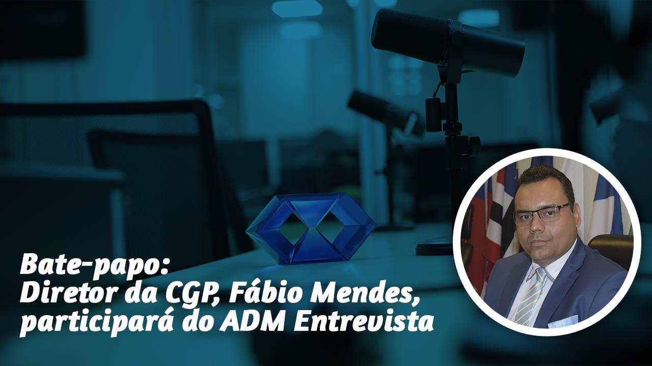ADM Entrevista: Transmissão será feita ao vivo pelo CFAPlay e Rádio ADM