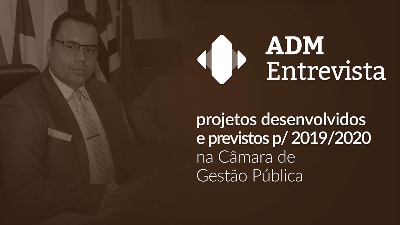 ADM Entrevista: diretor da CGP participa do programa ao vivo