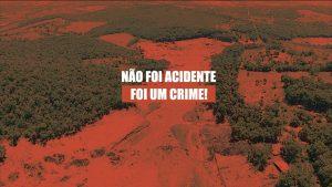Nota oficial: um crime em Brumadinho
