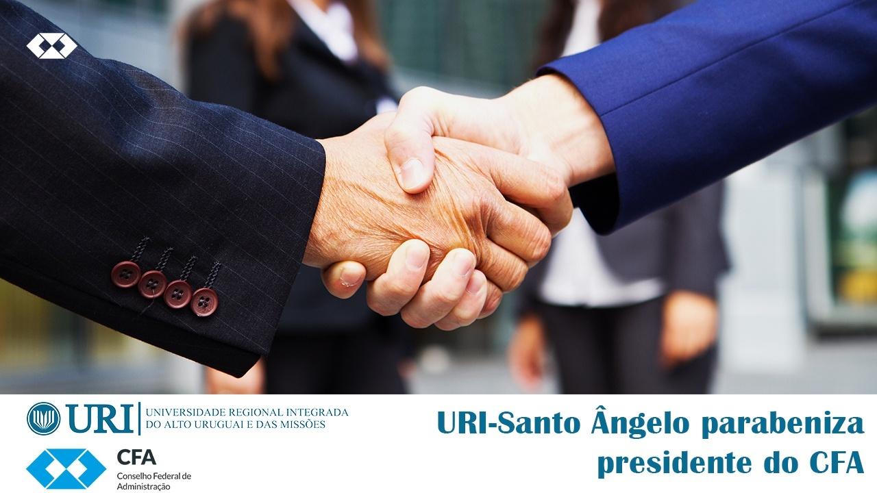 URI-Santo Ângelo parabeniza presidente do CFA