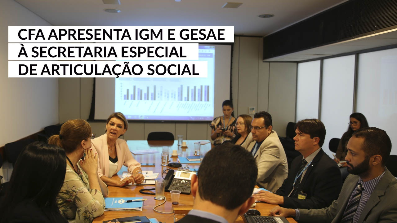 IGM e Gesae são apresentados no Palácio do Planalto