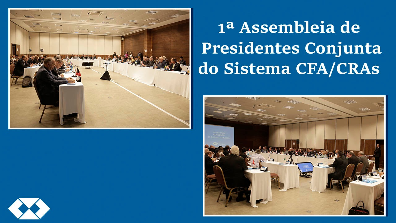 Evento reúne presidentes do Sistema CFA/CRAs na capital federal
