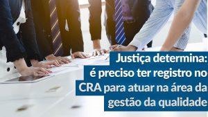 Mais uma vitória judicial para o Sistema CFA/CRAs