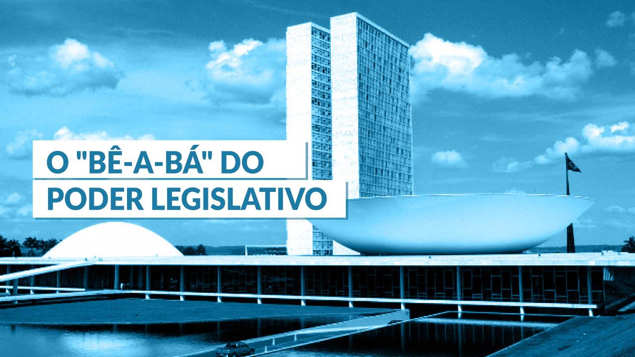 """O """"bê-a-bá"""" do Poder Legislativo"""