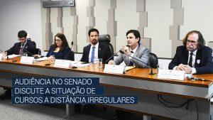 Audiência no Senado discute a situação de cursos a distância irregulares