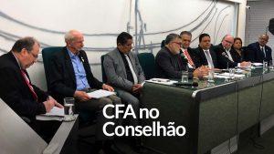 CFA: autarquia participa do Conselhão em Brasília