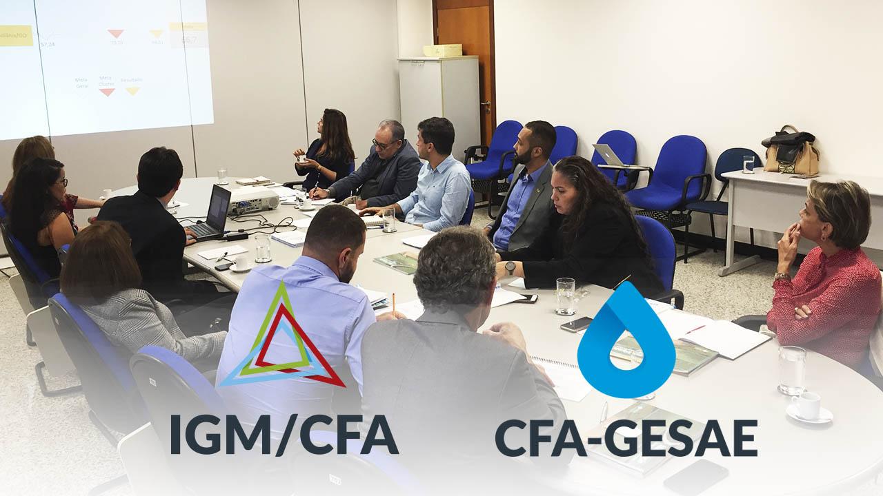 Sistema de Água e Esgotos é apresentado na CGU e ANA