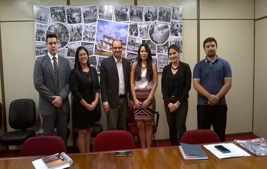 Fiscalização do CRA-AP visita o TJAP
