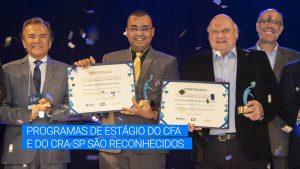 CFA e CRA-SP são premiados pelo CIEE