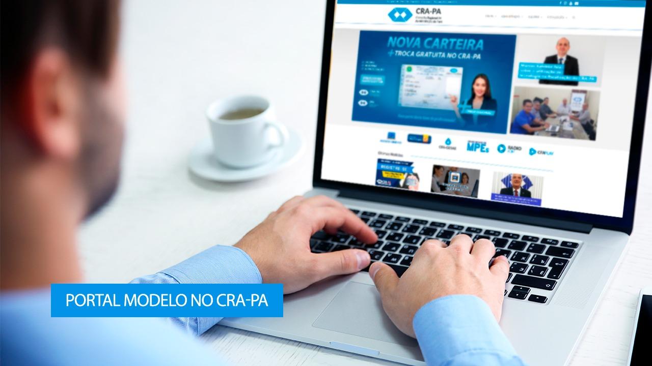 CRA-PA agora faz parte do Portal Modelo