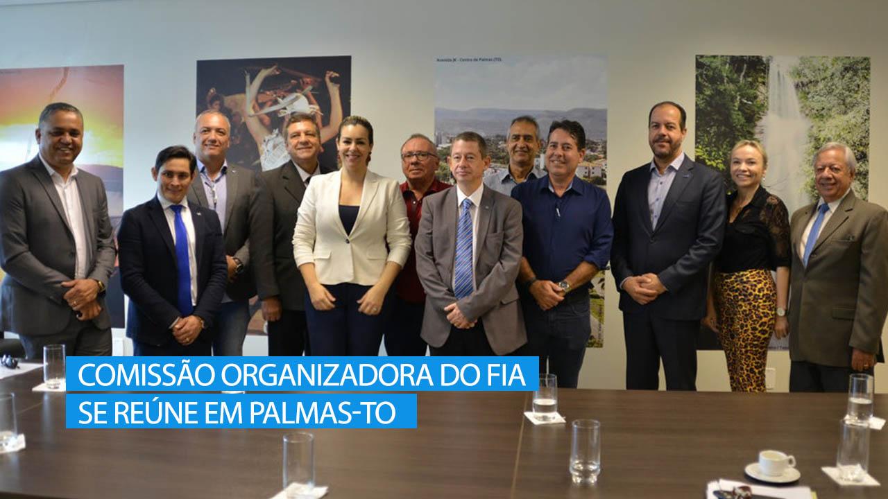 Comissão organizadora do FIA se reúne em Palmas-TO