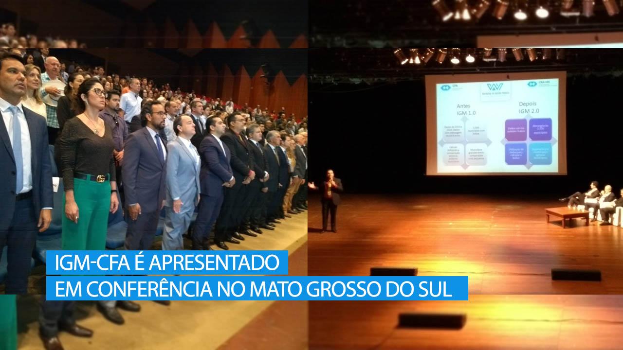 Gestores públicos sul-mato-grossenses conhecem o IGM-CFA