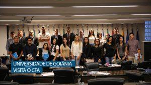"""Projeto """"A faculdade vai ao CFA"""" recebe os futuros Administradores da UNIALFA"""