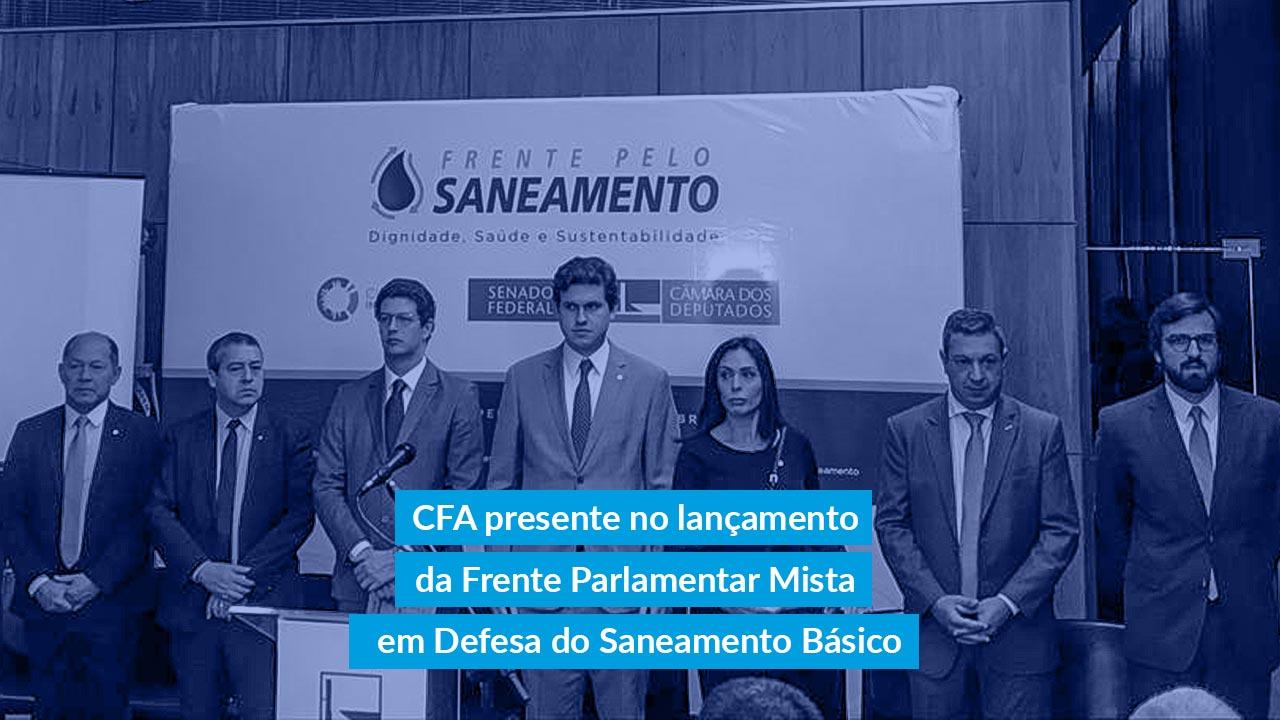 Frente Parlamentar Mista em Defesa do Saneamento Básico