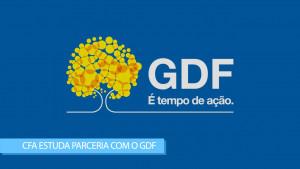 Em reunião, presidente Mauro Kreuz propõe parceria entre o CFA e o GDF