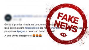 Nota de esclarecimento – post em rede social divulga informação falsa sobre o IGM-CFA