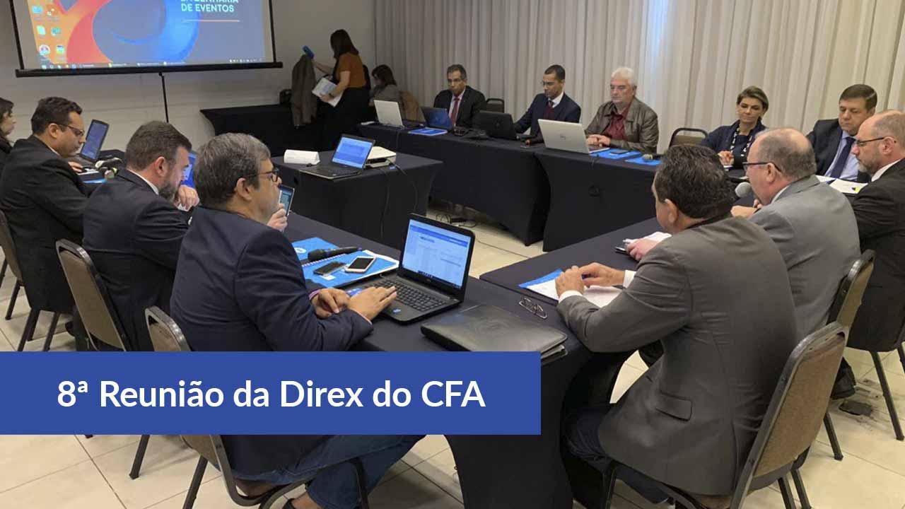8ª Reunião da Direx do CFA acontece em Florianópolis -SC