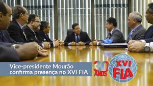 Vice-presidente Mourão confirma presença no XVI FIA