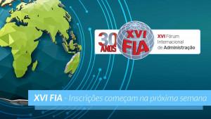 Palmas sediará XVI Fórum Internacional de Administração