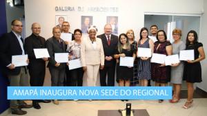 Emoção marcou a inauguração da sede própria do Regional